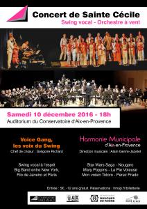 affiche concert HMAP 12 décembre 2016